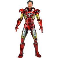 アイアンマン Iron Man ネカ NECA フィギュア おもちゃ Marvel Avengers Quarter Scale Action Figure [Battle Damaged]