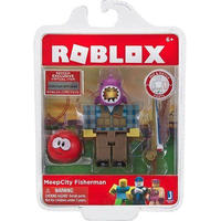 ロブロックス Roblox ジャズウェアーズ Jazwares フィギュア おもちゃ MeepCity Fisherman Mini Action Figure