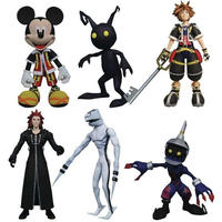 キングダム ハーツ ダイアモンド セレクト フィギュア おもちゃ Disney Select Sora, Dusk, Soldier, Mickey Mouse, Axel & Shadow
