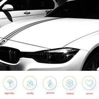 BMW ステッカー カースタイリング ストライプ ボンネット 車 デカールf30 f31 e90 e91 e46 e39 e60 f10 f11 f15 x5 f30 h00036