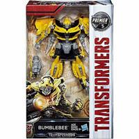 トランスフォーマー Transformers ハズブロ Hasbro Toys フィギュア おもちゃ The Last Knight Premier Deluxe Bumblebee