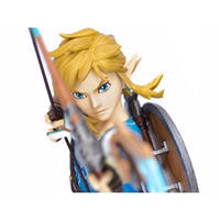ゼルダの伝説 ゼルダ ファースト4フィギュア FIRST 4 FIGURES Legend of Zelda: Breath of the Wild Link Statue