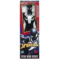 スパイダーマン Spider-Man ハズブロ Hasbro Toys フィギュア おもちゃ Titan Hero Series Web Warriors Black Suit