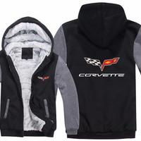高品質  シボレー コルベット  あったかい フリースパーカー ジップアップ  衣装 コスチューム 小道具 海外限定 非売品 映画グッズ 映画関連  Chevrolet Corvette  3