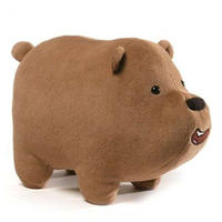 ぼくらベアベアーズ We Bare Bears ガンド Gund ぬいぐるみ おもちゃ Grizz 12-Inch Deluxe Plush