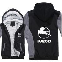 送料無料 高品質 Iveco  イヴェコ  パーカー スウェット  トラック イベコ  ウール ライナー ジャケット 海外限定  9