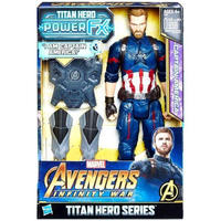 キャプテン アメリカ Captain America ハズブロ Hasbro Toys フィギュア Marvel Avengers: Infinity War Titan Hero Series