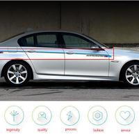 BMW ステッカー 5シリーズ F10 F11 F07 E60 E61 520i 528i 530i ストライプ ボディ デカール h00045
