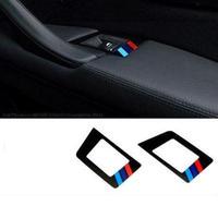 BMW ウィンドウスイッチ ボタン カバー 2個入 Mパワー パフォーマンス 520 525 528 535 h00285
