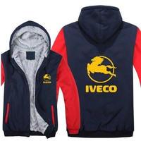 送料無料 高品質 Iveco  イヴェコ  パーカー スウェット  トラック イベコ  ウール ライナー ジャケット 海外限定  4