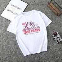 Twin Peaks  ツインピークス  レディース 女性 tシャツ グッズ ドラマ  衣装 コスチューム 小道具 海外限定 非売品 映画グッズ 映画関連  7