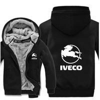 送料無料 高品質 Iveco  イヴェコ  パーカー スウェット  トラック イベコ  ウール ライナー ジャケット 海外限定  8