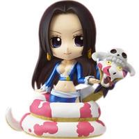 ワンピース おもちゃグッズ Toys and Collectibles One Piece Boa Hancock With Salome Chibi Arts Figure