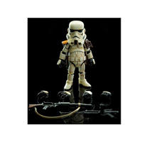 スターウォーズ ヒーロークロス HEROCROSS Hybrid Metal Figuration #019 Sandtrooper