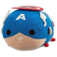 キャプテン アメリカ Captain America ディズニー Disney ぬいぐるみ おもちゃ Marvel Universe Tsum Tsum 11-Inch Medium Plush