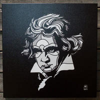 BAIT おもちゃグッズ Toys and Collectibles BAIT x David Flores 24 Inch Canvas - Beethoven