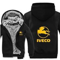 送料無料 高品質 Iveco  イヴェコ  パーカー スウェット  トラック イベコ  ウール ライナー ジャケット 海外限定  5