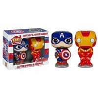 マーベル ファンコ FUNKO Pop! Home: Salt N' Pepper Shakers - Captain America & Iron Man