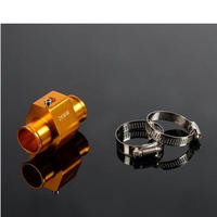 水温センサー アダプター 26mm アルミ 金色 クランプ 送料込 h01407
