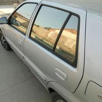 スモークフィルム 反射 断熱 窓 ステッカー サイドウィンドウ ソーラープロテクト 50 * 300CM 黒色 h00174