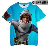 フォートナイト fortnite 子供服  3Dデザイン Tシャツ ユニセックス カジュアル半袖Tシャツ トップス  バトルロワイヤル  7
