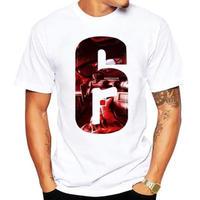 レインボーシックス シージ  ロゴデザイン  Tシャツ  半袖   Tom Clancy's Rainbow Six Siege R6S シージグッズ 12