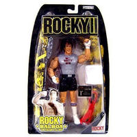 ロッキー Rocky ジャックスパシフィック Jakks Pacific フィギュア おもちゃ II Series 2 Balboa Action Figure [Training]