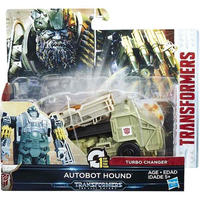 トランスフォーマー The Last Knight ハズブロ Hasbro Toys フィギュア  Transformers 1 Step Turbo Changer Autobot Hound