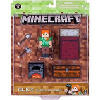 マインクラフト Minecraft ジャズウェアーズ Jazwares フィギュア おもちゃ Series 3 Alex Survival Pack Action Figure Set