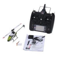 オリジナル XK Falcon K100 6CH 3D 6G システム RC ラジコン ヘリコプター RTF トランスミッター 送信機