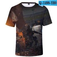 レインボーシックス シージ  ゲーミング 3Dプリント Tシャツ  半袖   Tom Clancy's Rainbow Six Siege R6S シージグッズ  1488
