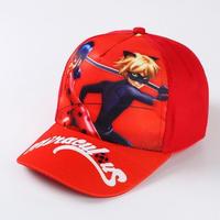 ミラキュラス レディバグ  シャノワール  帽子 キャップ 女の子 マリネット  アドリアン  2