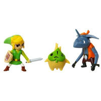 スーパーマリオ マリオ ジャックスパシフィック JAKKS PACIFIC Mario Brothers U Micro Figure - Link, Makar, Bokoblin