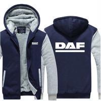 送料無料 高品質 DAF ダフ トラック   パーカー   スウェット   ウール ライナー ジャケット 海外限定  4