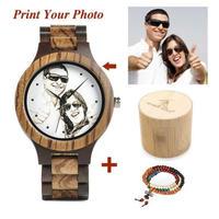 【BOBO BIRD]】ボボバード  木製 腕時計 カスタムウォッチ フォト 写真  世界で1本の腕時計  ギフトやプレゼントにも喜ばれます 【自然に優しい天然木】