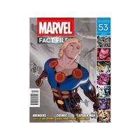 マーベル イーグルモスパブリケーションズ EAGLEMOSS PUBLICATIONS Marvel Fact Files #53