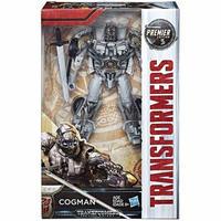 トランスフォーマー Transformers ハズブロ Hasbro Toys フィギュア おもちゃ The Last Knight Premier Deluxe Cogman
