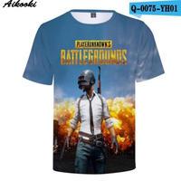 Pubg パブジー ゲーム 3Dデザイン Tシャツ ユニセックス  playerunknown Battlegrounds プレイヤーアンノウンズ バトルグラウンズ  1