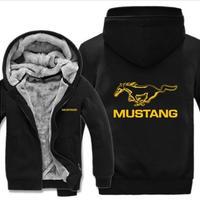 高品質  フォード マスタング 50years  あったかい フリースパーカー ジップアップ  衣装 コスチューム 小道具 海外限定 非売品 映画グッズ 映画関連 Ford Mustang  5