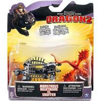 ヒックとドラゴン How to Train Your Dragon スピンマスター Spin Master フィギュア おもちゃ 2 Monstrous Nightmare vs. Snuffer
