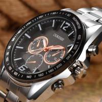 OUKESHI トップブランド 高級 メンズクォーツ腕時計 ミリタリー 防水 ビジネススポーツ 海外インポートブランド