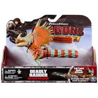 ヒックとドラゴン スピンマスター フィギュア おもちゃ Race to the Edge Action Dragon Deadly Nadder  [Tail Twist Spike Attack!]