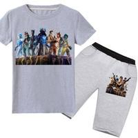 フォートナイト fortnite 子供服   Tシャツ+パンツのセット  ユニセックス カジュアル  パジャマ  5