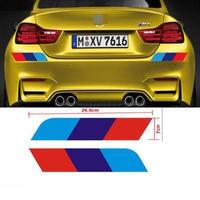 BMW 2個入 ステッカー リア E30 E34 E36 E39 E46 E53 E60 E61 E64 E70 E71 E85 E87 E90 E83 F10 F20 21 30 35 h00230