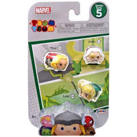 マイティ ソー Thor ジャックスパシフィック フィギュア おもちゃ Marvel Tsum Tsum Series 5 , Odin & Loki 1-Inch Minifigure 3-Pack