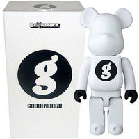 フィギュア メディコム Medicom Medicom Goodenough White 400% Bearbrick Figure