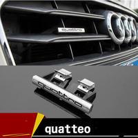 アウディ ステッカー 10個入 quattro ABS バッジ Audi A3 A4 A6 A7 A8 Q3 Q5 Q7 TT h00387