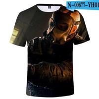 レインボーシックス シージ  ゲーミング 3Dプリント Tシャツ  半袖   Tom Clancy's Rainbow Six Siege R6S シージグッズ  00677