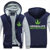 Herbalife  ハーバライフ ロゴあったか フリース パーカー  ジップアップ2