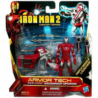 アイアンマン Iron Man ハズブロ Hasbro Toys フィギュア  2 Concept Series Armor Tech Juggernaut Upgrade Action Figure